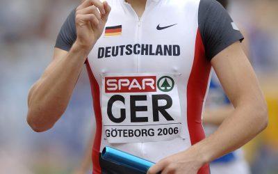 4x400m Staffel Deutschland: Bastian SWILLIMS. 12.08.2006. Leichtathletik Europameisterschaft 2006 in Goeteborg vom 07.-13.08.2006. ©SVEN SIMON, Prinzess-Luise-Str.41#45479 Muelheim/Ruhr#tel.0208/9413250#fax 0208/9413260#Kto 1428150 C o m m e r z b a n k  E s s e n  BLZ 36040039#www.SvenSimon.net#e-mail:SvenSimon@t-online.de.