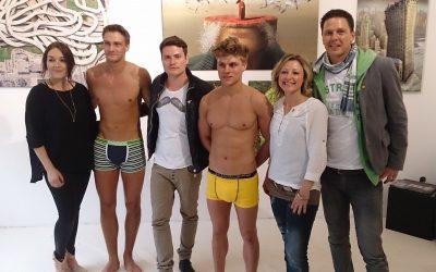 jens Dautzenberg für RTL2 mit Rocco Stark