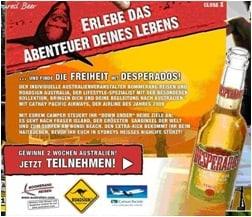 Desperados - ein Bier mit Spirit