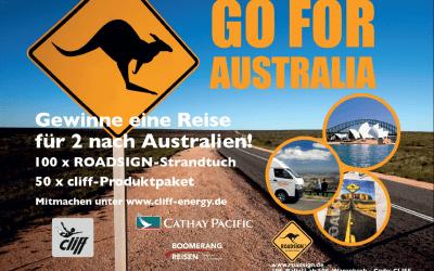 Cliff  - go for Australia